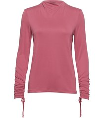leelu tee ls blus långärmad rosa soaked in luxury