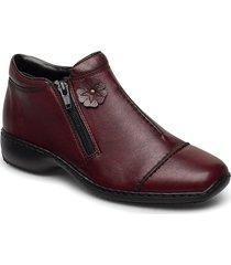 l3888-35 shoes boots ankle boots ankle boot - flat röd rieker