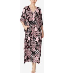 ellen tracy knit caftan nightgown