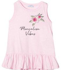 monnalisa ligh pink shirt