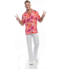 buyseasons men's california dreamin disco shirt