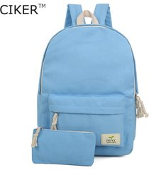 women canvas backpack cute fashion printing backpacks womens travel bags mochila