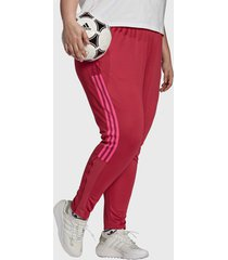pantalón de buzo adidas performance tiro tk pntw rosa - calce regular