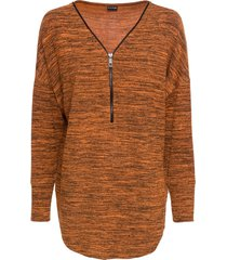 maglia a maniche lunghe (arancione) - bodyflirt