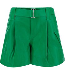 ganni bermuda shorts