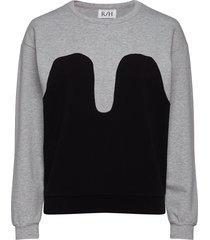 magic sweater sweat-shirt trui grijs r/h studio