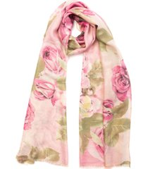 inc floral shine wrap scarf, created for macy's