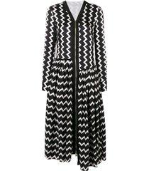 stella mccartney sage long silk dress - black