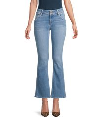 hudson women's collin mid-rise bootcut jeans - helena - size 27 (4)