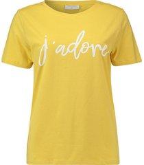 t-shirt geel