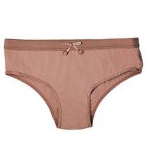 calcinha infantil calça baixa recreio demillus 38059 bege rosado