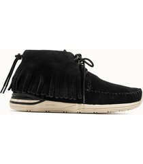 visvim desert boots shaman folk colore nero