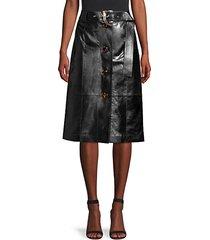avalon leather skirt