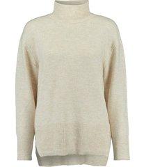 oversized sweater beige