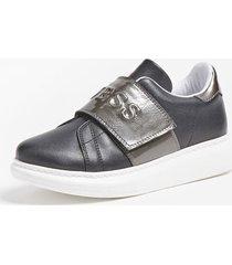 sneakersy z logo model new edgy '(27-34)