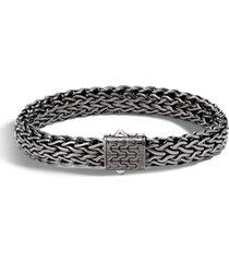 men's john hardy men's large flat classic chain bracelet
