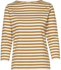 ilma shirt t-shirts & tops long-sleeved beige marimekko