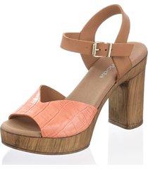 sandaletter alba moda persika::konjak