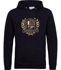 egalité hoodie hoodie trui blauw les deux