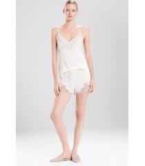 natori luxe shangri-la pajamas, women's, white, size xl natori