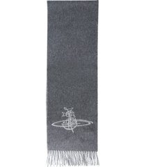 vivienne westwood scarf with logo