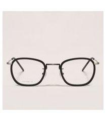 armação para óculos de grau feminina redonda preta