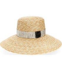 women's eugenia kim annabelle wide brim straw hat -