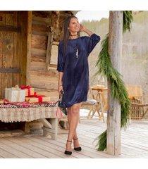 sundance catalog women's midnight velvet dress small