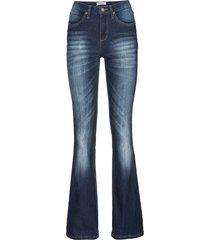 jeans elasticizzati comfort bootcut (blu) - john baner jeanswear