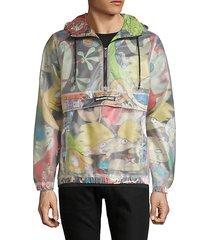 members only x nickelodeon half-zip jacket