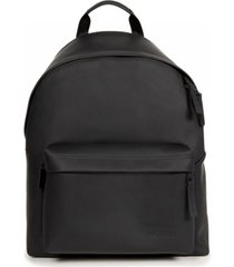 padded pak'r ath-leather backpack