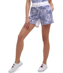 tommy hilfiger sport women's printed shorts