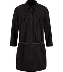 camicetta lunga con pizzo (nero) - bpc bonprix collection