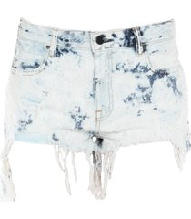alexander wang denim shorts