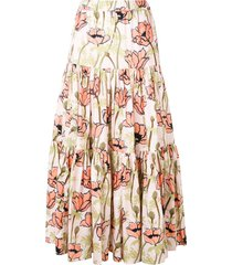 tory burch poppy skirt - pink