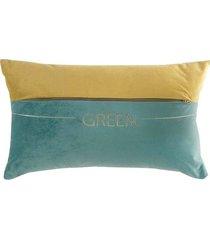poduszka dekoracyjna paraiso green 30x50 cm