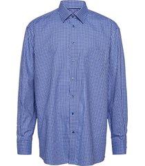 classic fit business casual fine twill shirt skjorta business blå eton