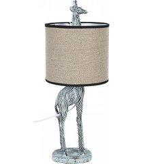 lampa stołowa lampa biurkowa żyrafa