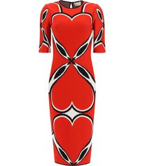 alexander mcqueen love heart dress