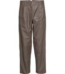 iris leather pants leather leggings/byxor brun mdk / munderingskompagniet