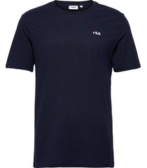 edgar tee t-shirts short-sleeved blå fila