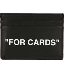 off white quote card holder