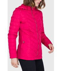 parka ash corta rojo - calce regular