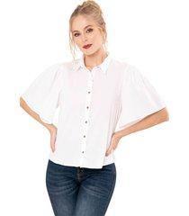 camisa alexa blanco ragged pf11112217