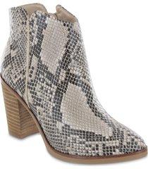 women's mia patton bootie, size 7 m - grey