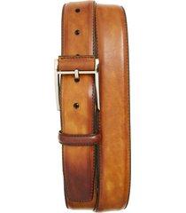 men's big & tall magnanni velaz belt, size 46 - cuero