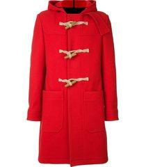 ami paris duffle coat - red