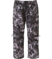 marcelo burlon camouflage nylon pants
