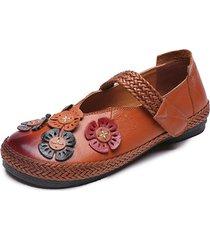 scarpe casual in pelle vera