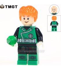 green lantern clark kent with superman coat dc minifigure building blocks toys